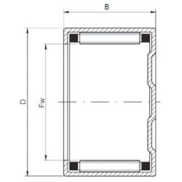 Bantalan BK405020 ISO