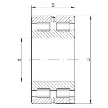Bantalan NNC4980 V ISO