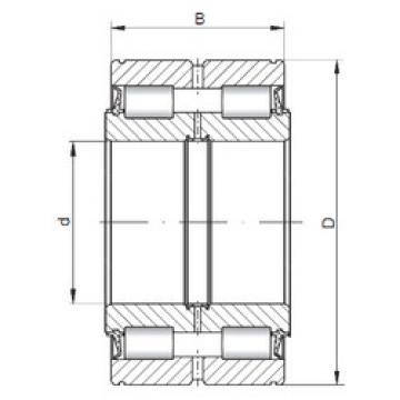 Bantalan NNF5014 V ISO