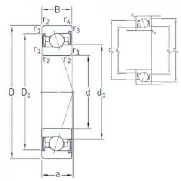 Bantalan VEX 50 /S/NS 7CE1 SNFA
