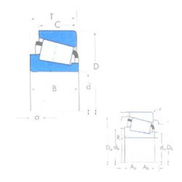 Bantalan 370A/362A Timken