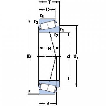 Bantalan JL 69349 A/310/Q SKF