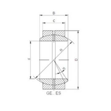 Bantalan GE110XDO-2RS ISO