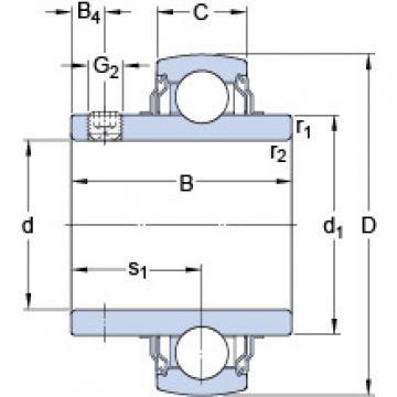Bantalan YAR 205-100-2FW/VA228 SKF