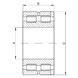 Bantalan NNC4944 V ISO