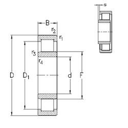Bantalan NU2314-E-MA6 NKE