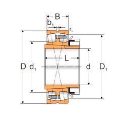 Bantalan 23052 ACKMBW33+H3052X MPZ