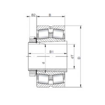 Bantalan 23048 KCW33+H3048 ISO