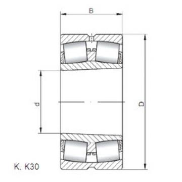 Bantalan 23060 KW33 ISO