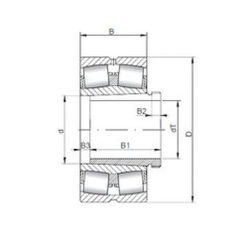 Bantalan 23072 KCW33+AH3072 ISO
