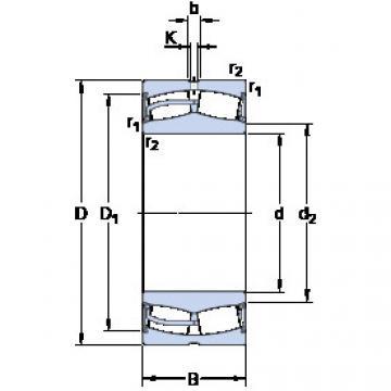 Bantalan 23044-2CS5/VT143 SKF